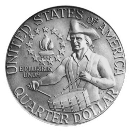 1976 Bicentennial Quarter Reverse Plates