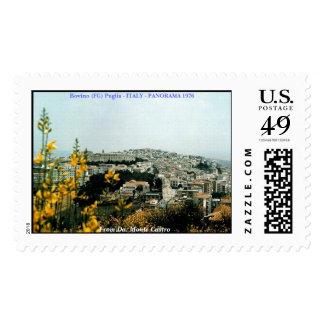 1976 Bovino -  Panorama, Bovino (FG) Puglia - I... Postage