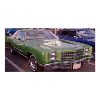 1976 Chevy Monte Carlo Poster
