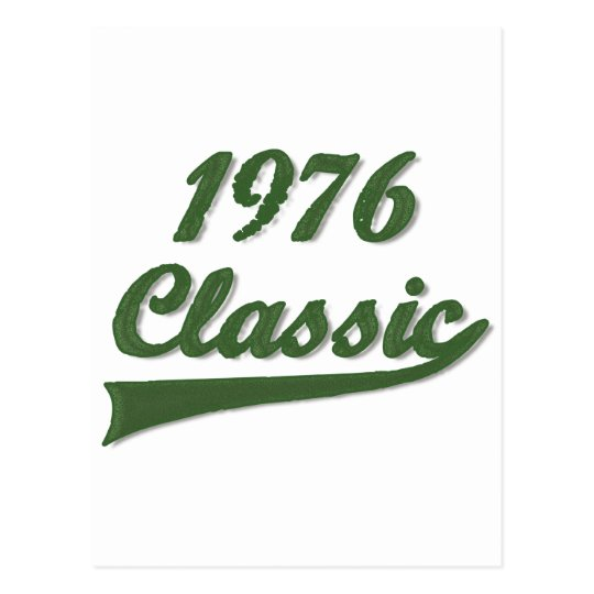 1976 Classic Postcard