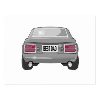 1976 Datsun 280Z Gray Postcard