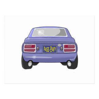 1976 Datsun 280Z Pass Envy Postcard