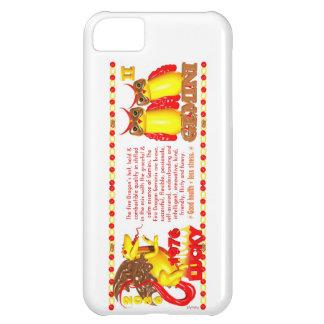 1976 FireDragon born Gemini by Valxart iPhone 5C Cover
