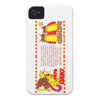 1976 FireDragon born Gemini by Valxart iPhone 4 Case