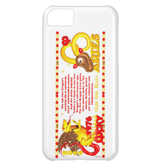 1976 FireDragon born in Aries by Valxart iPhone 5C Cases