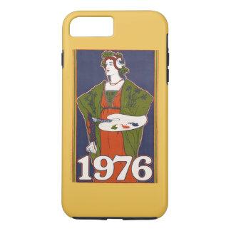 1976 vintage artist birthday iPhone 8 plus/7 plus case