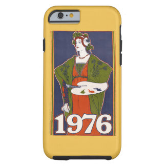 1976 vintage artist birthday tough iPhone 6 case