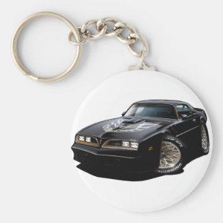 1977-78 Trans Am Black Keychain