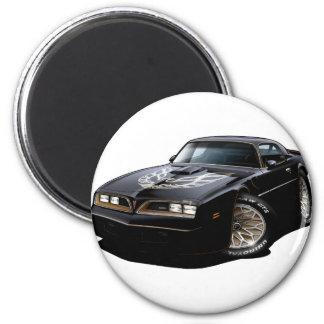 1977-78 Trans Am Black 2 Inch Round Magnet