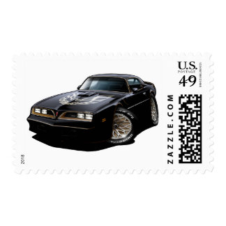 1977-78 Trans Am Black Stamps