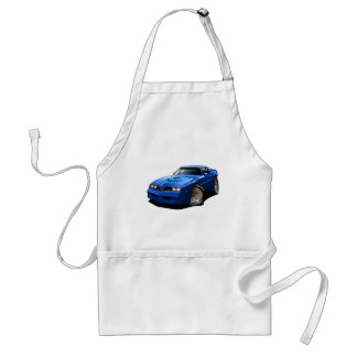 1977-78 Trans Am Blue Adult Apron