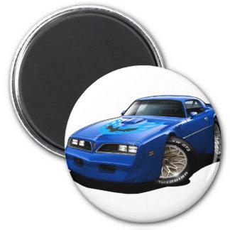 1977-78 Trans Am Blue 2 Inch Round Magnet