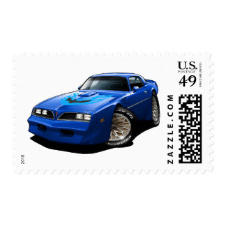 1977-78 Trans Am Blue Stamps