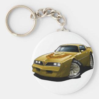 1977-78 Trans Am Gold Keychain