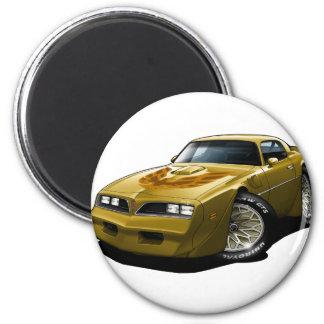 1977-78 Trans Am Gold 2 Inch Round Magnet