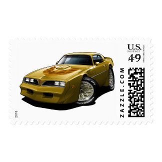 1977-78 Trans Am Gold Stamps