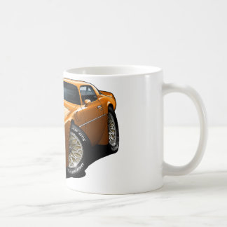 1977-78 Trans Am Orange Coffee Mug