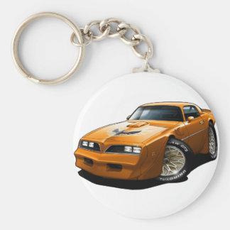 1977-78 Trans Am Orange Keychain
