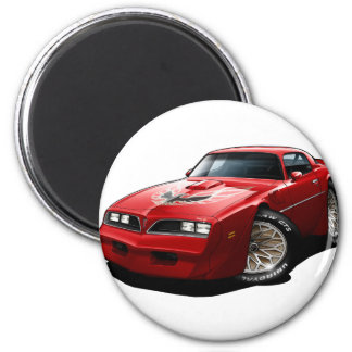 1977-78 Trans Am Red 2 Inch Round Magnet
