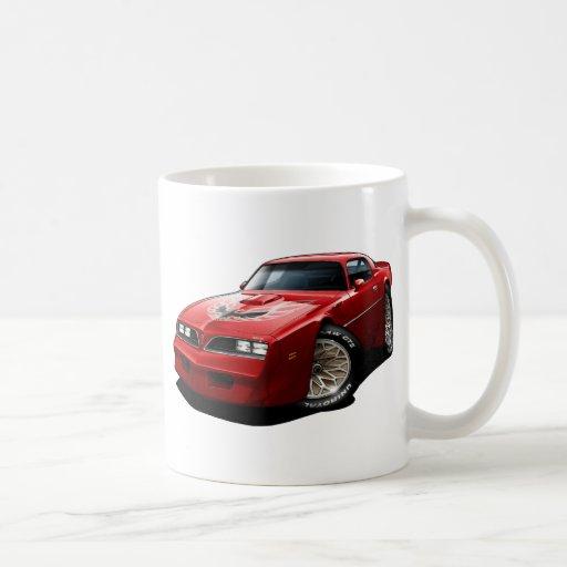 1977-78 Trans Am Red Mug