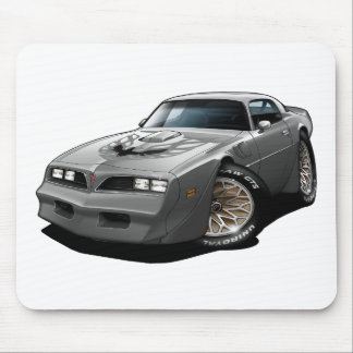 1977-78 Trans Am Silver Mouse Pad