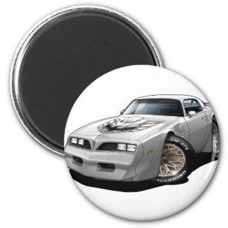 1977-78 Trans Am White 2 Inch Round Magnet