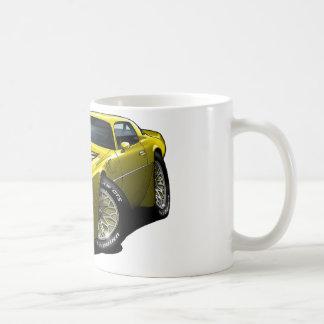 1977-78 Trans Am Yellow Coffee Mug