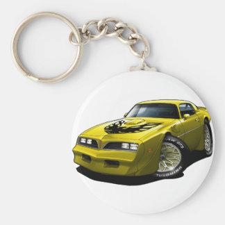 1977-78 Trans Am Yellow Keychain