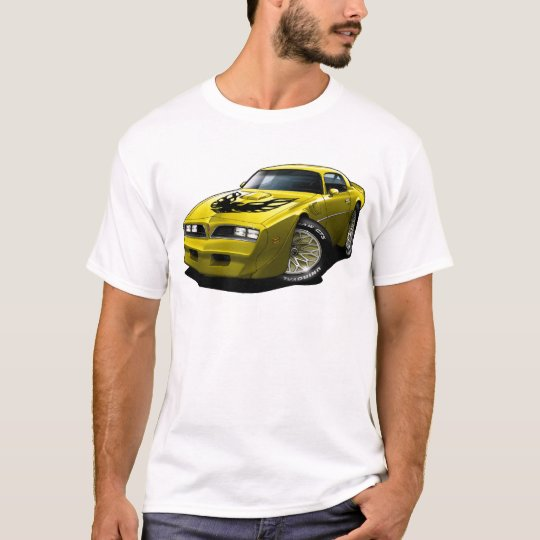 1977-78 Trans Am Yellow T-Shirt