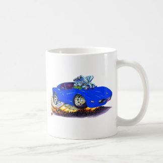 1977-79 Corvette Blue Car Coffee Mug