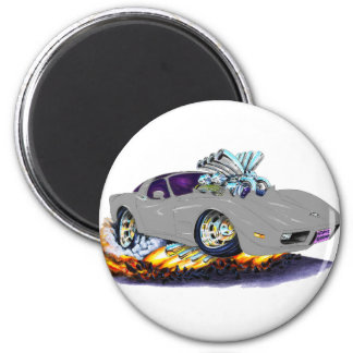 1977-79 Corvette Silver Car Magnet