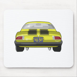 1977 Chevrolet Camero Mouse Pad