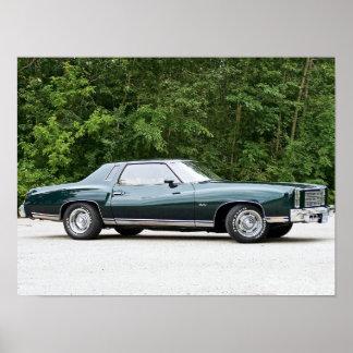 1977 Chevrolet/Chevy Monte Carlo Poster