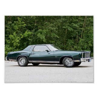 1977 Chevrolet/Chevy Monte Carlo Print