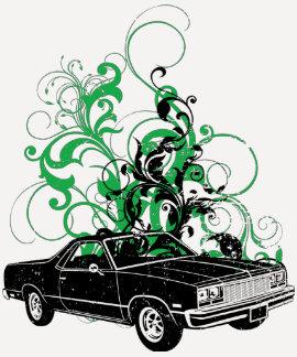 1977 Chevrolet El Camino T Shirt
