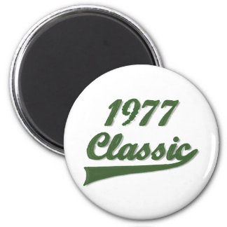 1977 Classic 2 Inch Round Magnet