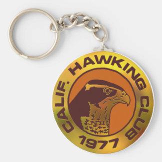 1977 Los Banos Basic Round Button Keychain