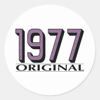 1977 Original Sticker