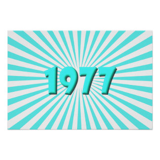 1977 PÓSTER