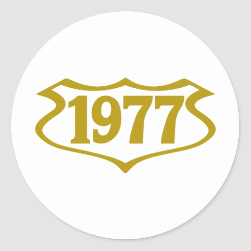 1977-shield.png sticker