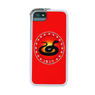 1977 Year of the Snake iPhone 5 Covers
