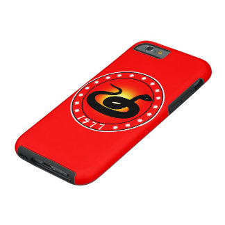 1977 Year of the Snake Tough iPhone 6 Case