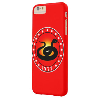 1977 Year of the Snake Barely There iPhone 6 Plus Case