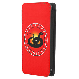 1977 Year of the Snake Galaxy S4 Pouch