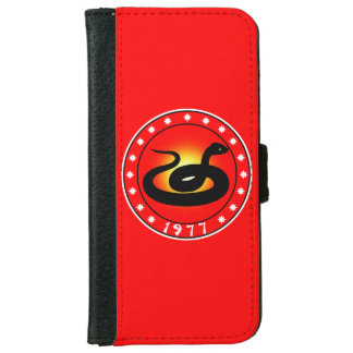 1977 Year of the Snake iPhone 6 Wallet Case