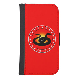 1977 Year of the Snake Galaxy S4 Wallet Cases