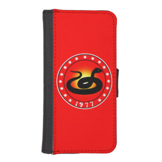 1977 Year of the Snake Phone Wallet