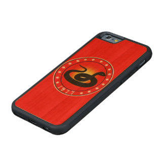 1977 Year of the Snake Carved® Cherry iPhone 6 Bumper Case