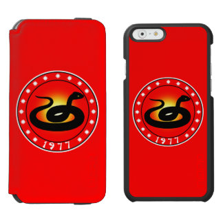 1977 Year of the Snake Incipio Watson™ iPhone 6 Wallet Case