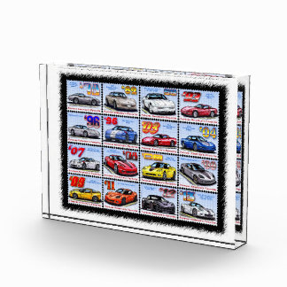 1978-2013 Special Edition Corvette Montage Acrylic Award